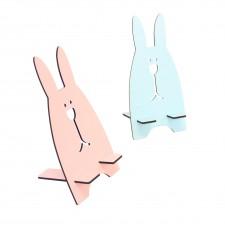 兔子手機架