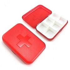 六格十字藥盒