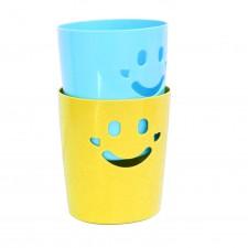 微笑收納桶
