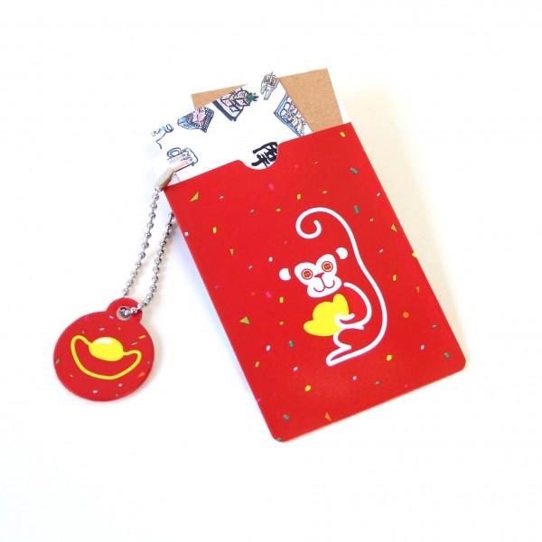 小猴票卡夾