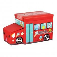 兒童汽車造型玩具收納箱