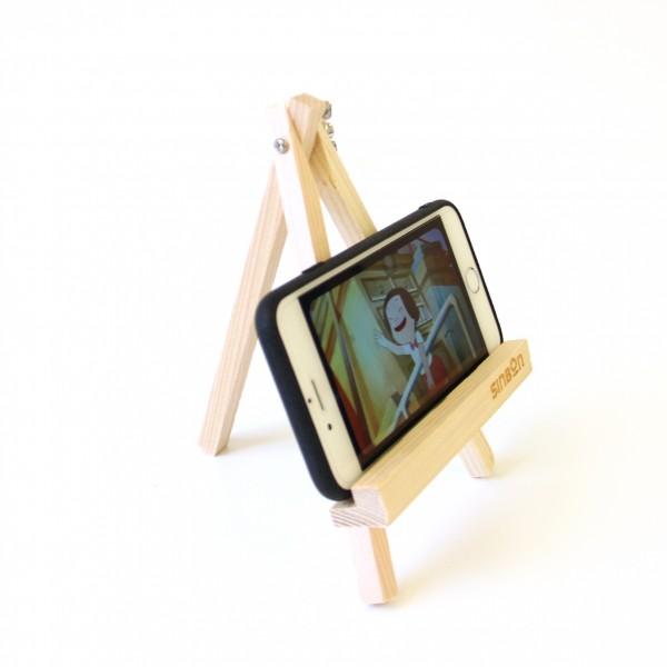 小畫架造型手機支架